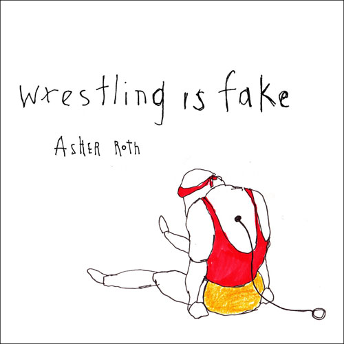 Wrestling Is Fake Cover