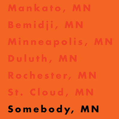 Somebody, MN Promo Photo
