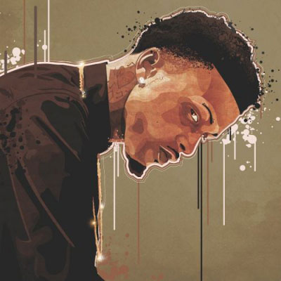 August Alsina - Right There (Remix) ft. Meek Mill Artwork