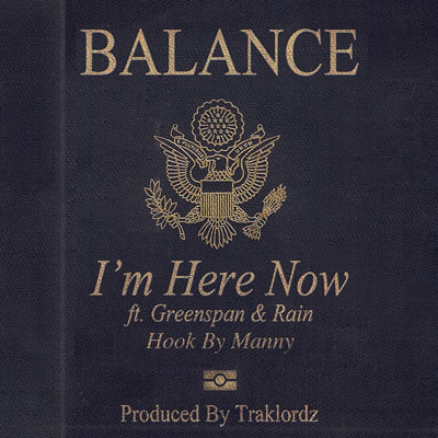 I'm Here Now Cover
