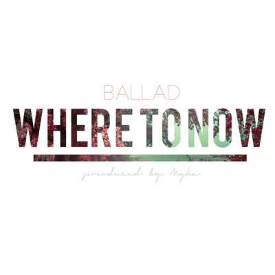 Where to Now Cover