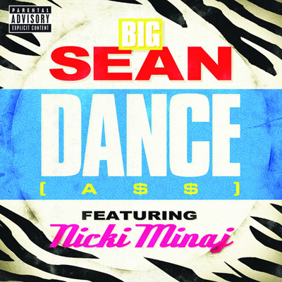 Big Sean ft. Nicki Minaj - Dance (A$$) (Remix) Artwork