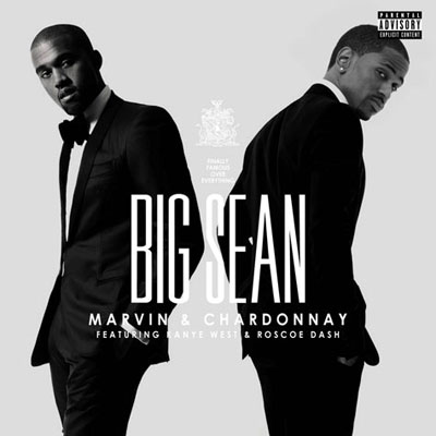 Big Sean ft. Kanye West & Roscoe Dash - Marvin Gaye & Chardonnay Artwork