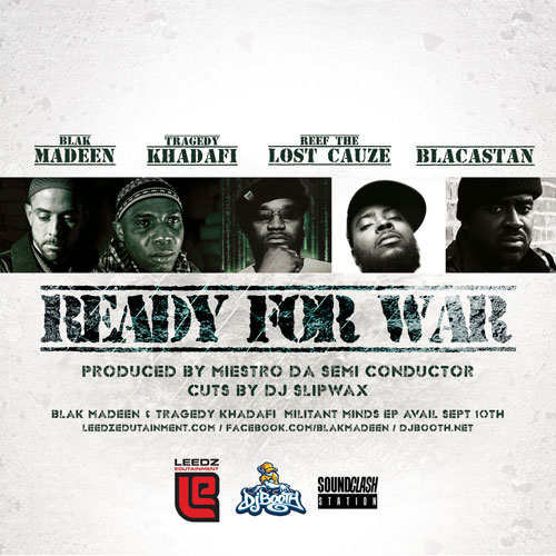 Ready For War Cover