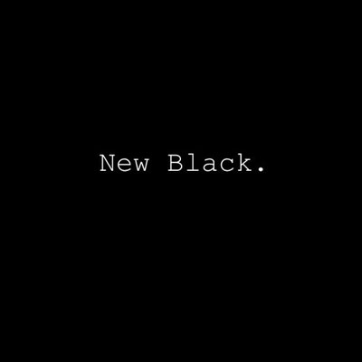 New Black Cover