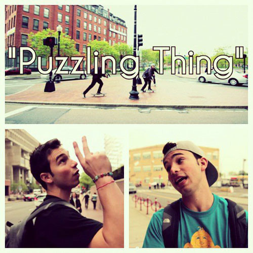 Puzzling Thing Cover