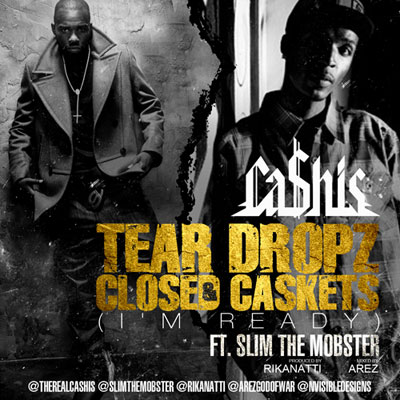 Tear Dropz & Closed Caskets Cover