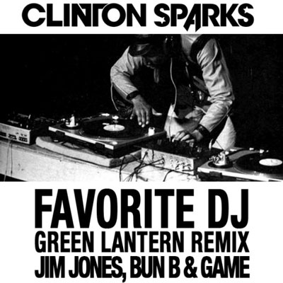 Favorite DJ (Green Lantern Remix) Cover