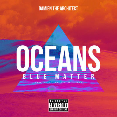 Damien the Architect - Oceans (Blue Matter) Artwork