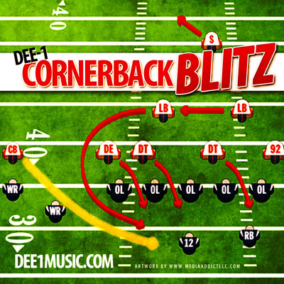 Cornerback Blitz Promo Photo