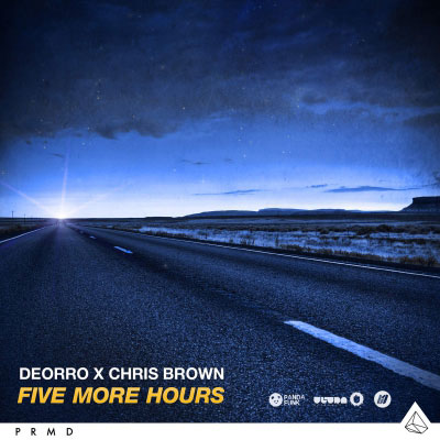 Deorro & Chris Brown - Five More Hours Artwork