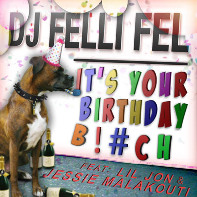 It's Your Birthday Bitch Cover
