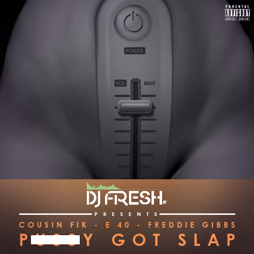 Pu**y Got Slap Cover