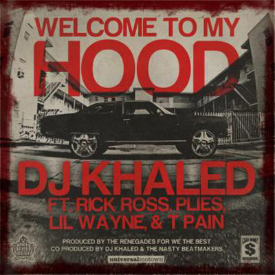 Welcome to My Hood Cover