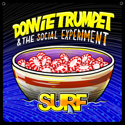 Donnie Trumpet & The Social Experiment ft. Chance The Rapper and Jamila Woods - Sunday Candy Artwork