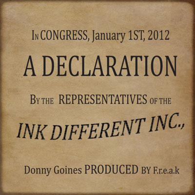 The Declaration Cover