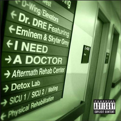 I Need a Doctor Cover