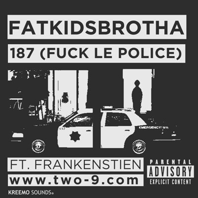 187 (F*ck Le Police) Cover
