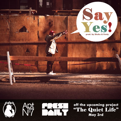 Say Yes! Cover
