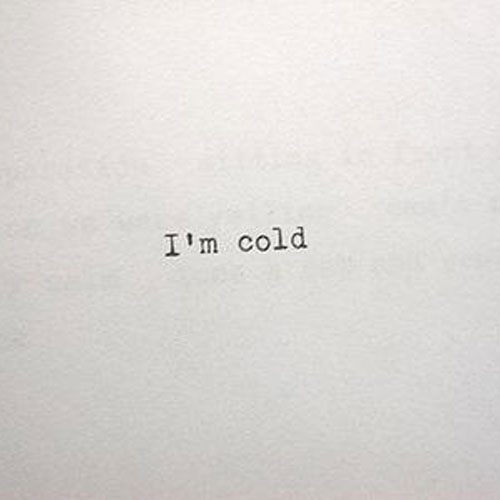 I'm Cold Cover