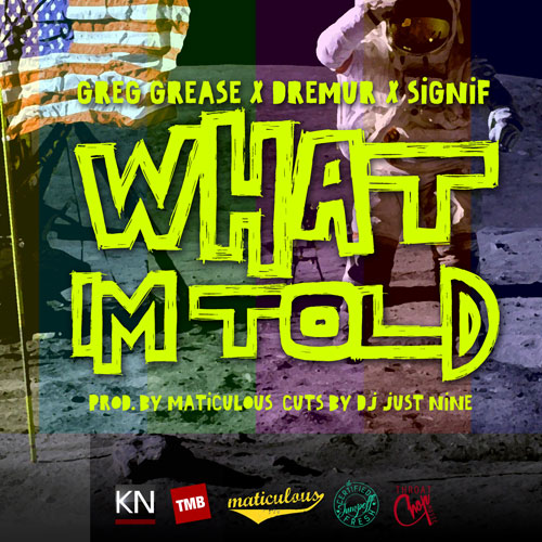What I'm Told () Cover