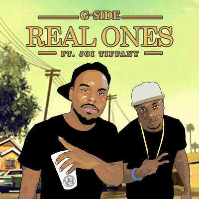 G-Side ft. Joi Tiffany - Real Ones Artwork
