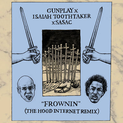 Frownin (The Hood Internet Remix) Cover