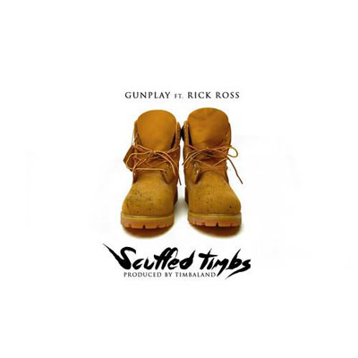 Gunplay ft. Rick Ross - Scuffed Timbs Artwork