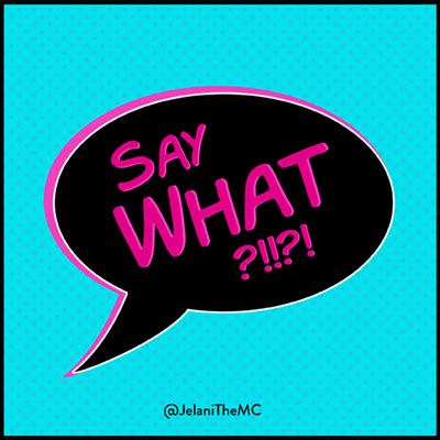 Say What Cover