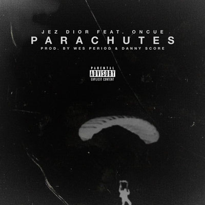 Jez Dior ft. OnCue - Parachutes Artwork