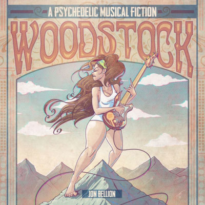 Jon Bellion - Woodstock (Psychedelic Fiction) Artwork