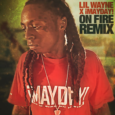 On Fire (¡MAYDAY! Remix) Promo Photo