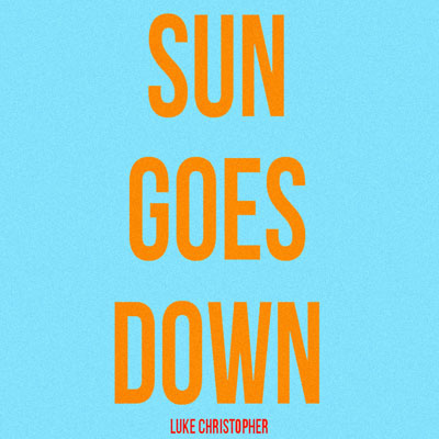Sun Goes Down Cover