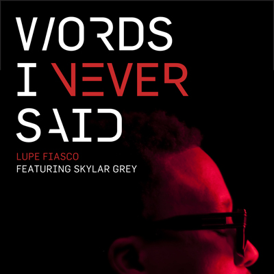 Words I Never Said Cover