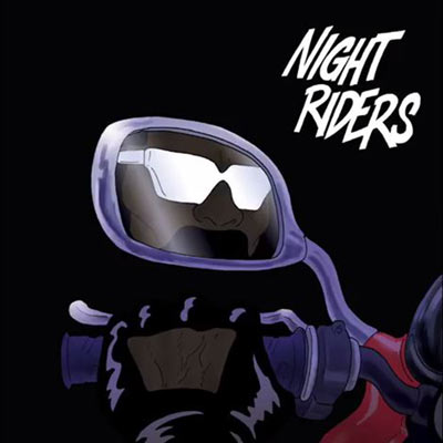 Major Lazer - Night Riders ft. Travi$ Scott, 2 Chainz, Pusha T & Mad Cobra Artwork