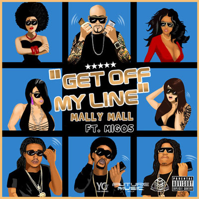 B*tch Get Off My Line Cover