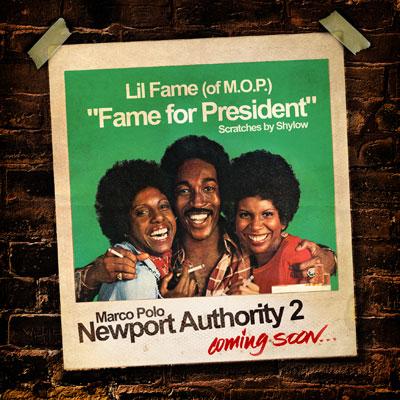 Fame for President Cover