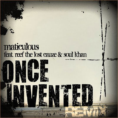 Once Invented (Remix) Cover