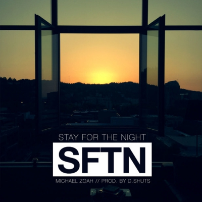 Michael Zoah - Stay For The Night Artwork