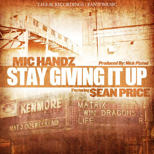 Stay Givin It Up Cover