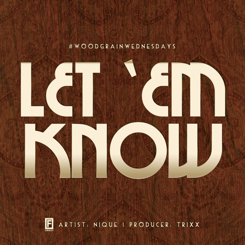 Let Em Know Cover