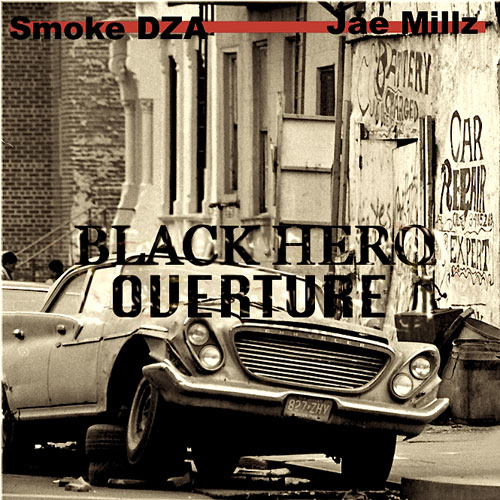 Black Hero Overture Cover
