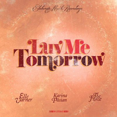 Luv Me Tomorrow Cover