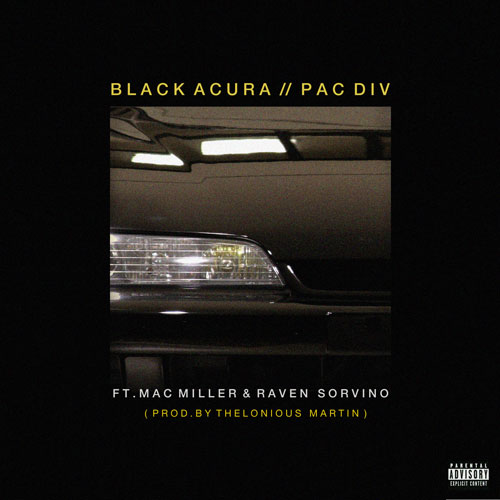 Black Acura Cover
