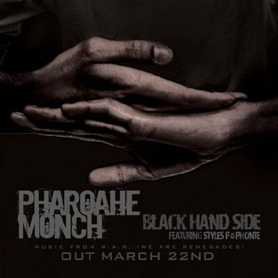 Black Hand Side Cover