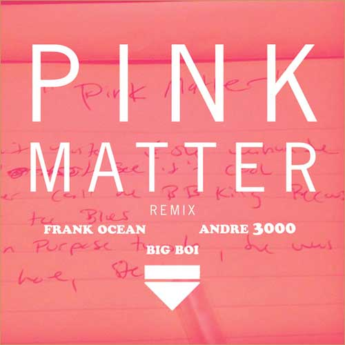 Pink Matter (Remix) Promo Photo