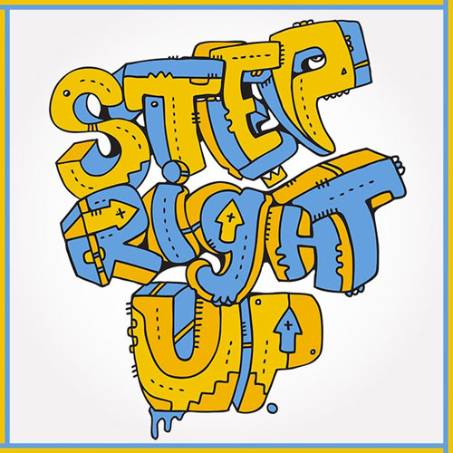 Step Right Up Cover