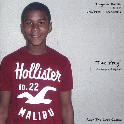 The Prey (For Trayvon & My Son) Cover
