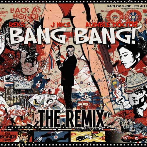 Bang Bang (Audible Doctor Remix) Cover