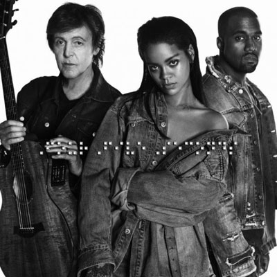 Rihanna ft. Kanye West & Paul McCartney - FourFiveSeconds Artwork